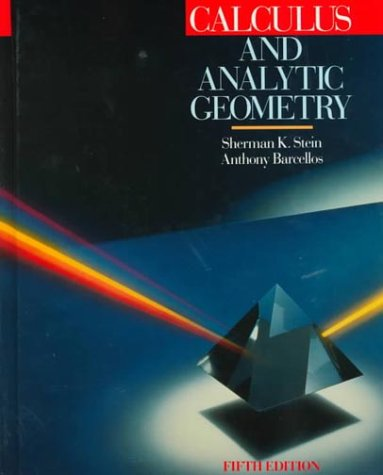 Calculus and Analytic Geometry  5th 1992 (Revised) edition cover