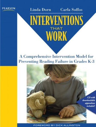 Comprehensive Intervention Model for Reversing Reading Failure, Grades K-3   2012 edition cover