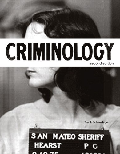 Criminology  2nd 2014 edition cover