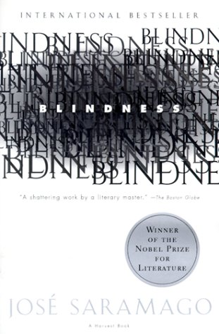 Blindness   1998 9780156007757 Front Cover