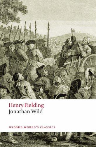 Jonathan Wild   2008 edition cover