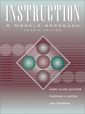 Instruction A Models Approach 4th 2003 (Revised) 9780205367757 Front Cover