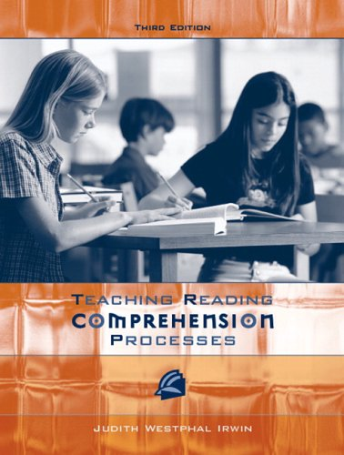 Teaching Reading Comprehension Processes  3rd 2007 (Revised) edition cover