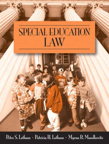 Special Education Law   2008 edition cover
