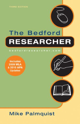Bedford Researcher with 2009 MLA and 2010 APA Updates  3rd edition cover