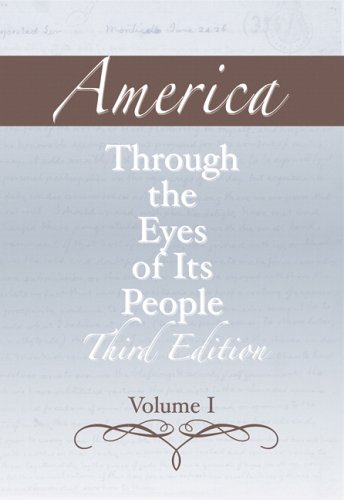 America Through the Eyes of Its People  3rd 2006 (Revised) 9780321395757 Front Cover