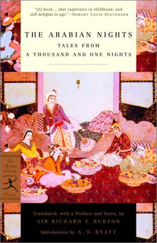 Arabian Nights Tales from a Thousand and One Nights  2001 edition cover