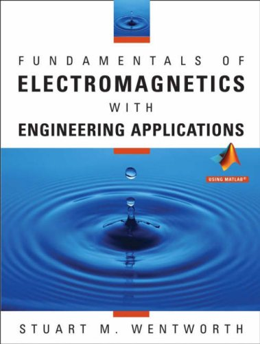 Fundamentals of Electromagnetics with Engineering Applications   2005 edition cover