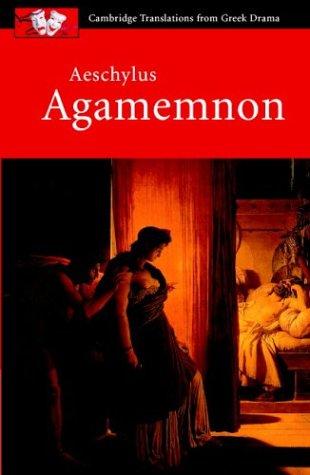 Aeschylus Agamemnon  2003 edition cover