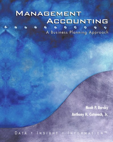 Management Accounting A Business Planning Approach  2005 9780618213757 Front Cover