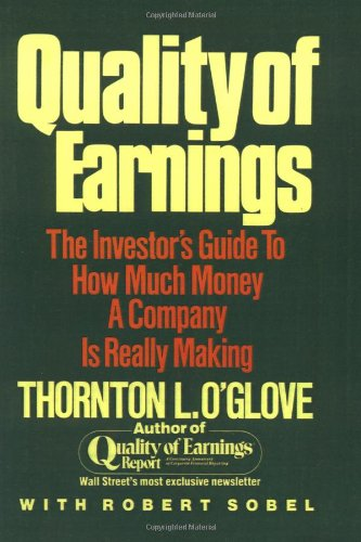 Quality of Earnings   1998 edition cover
