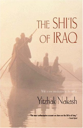 Shi'is of Iraq  2nd 1994 (Revised) edition cover