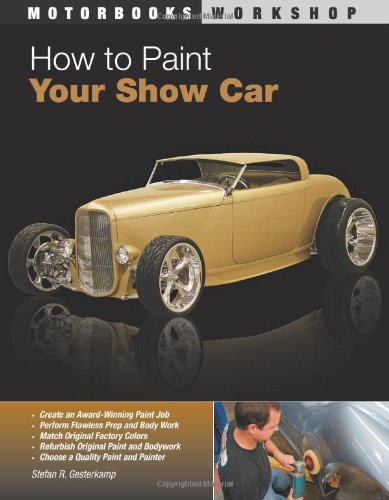 How to Paint Your Show Car   2008 edition cover