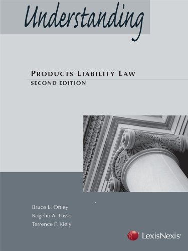 UNDERSTANDING PRODUCTS LIABILI N/A edition cover