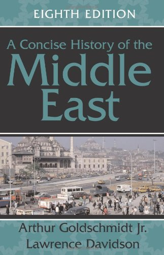 Concise History of the Middle East  8th 2005 edition cover