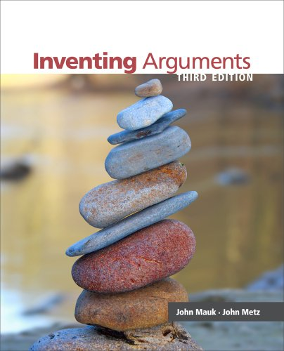 Inventing Arguments  3rd 2013 edition cover