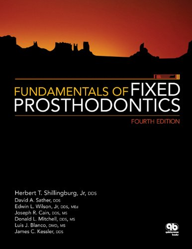 Fundamentals of Fixed Prosthodontics  4th 2012 edition cover