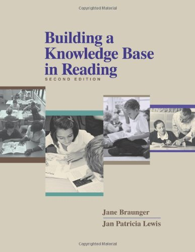 Building a Knowledge Base in Reading  2nd 2005 edition cover