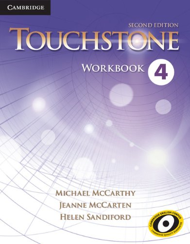 Touchstone Level 4 Workbook  2nd 2013 edition cover