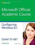 Configuring Windows 8. 1 Exam 70-687  2015 edition cover