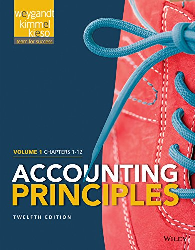 Accounting Principles - Chapters 1-12  12th 2015 edition cover
