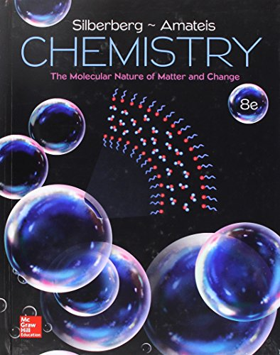 Chemistry: The Molecular Nature of Matter and Change  2017 9781259631757 Front Cover