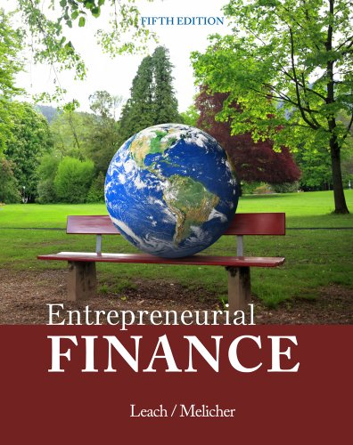 Entrepreneurial Finance 5th 2014 9781285425757 Front Cover
