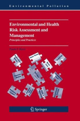 Environmental and Health Risk Assessment and Management Principles and Practices  2006 9781402037757 Front Cover