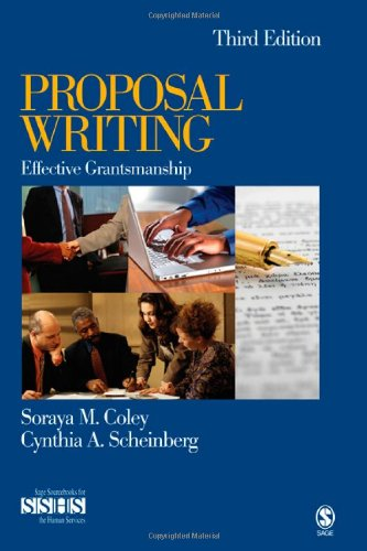 Proposal Writing Effective Grantsmanship 3rd 2008 edition cover