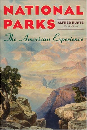 National Parks The American 4th 2010 (Revised) edition cover