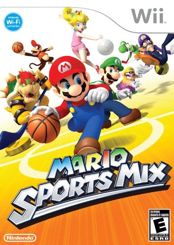 Mario Sports Mix Nintendo Wii artwork