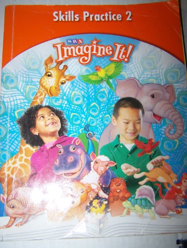 Imagine It!: Skills Practice Workbook 2 Grade 1 1st 2008 9780076104758 Front Cover