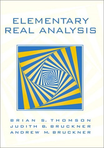 Elementary Real Analysis   2001 edition cover