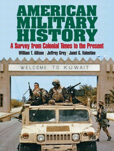 American Military History A Survey from Colonial Times to the Present  2007 edition cover