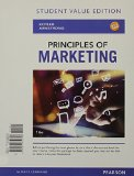 Principles of Marketing: Value Edition  2015 edition cover