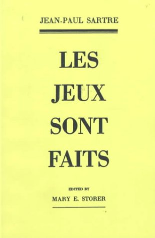 Jeux Sont Faits   1952 (Student Manual, Study Guide, etc.) edition cover
