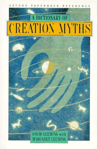 Dictionary of Creation Myths   1996 edition cover