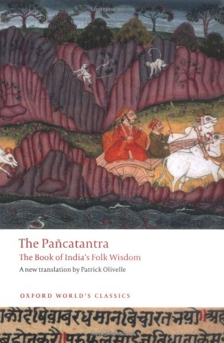 Pancatantra The Book of India's Folk Wisdom  2009 edition cover