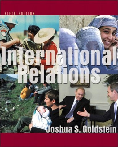 International Relations, 2008-2009  5th 2003 9780321088758 Front Cover