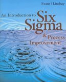 Introduction to Six Sigma and Process Improvement   2005 edition cover