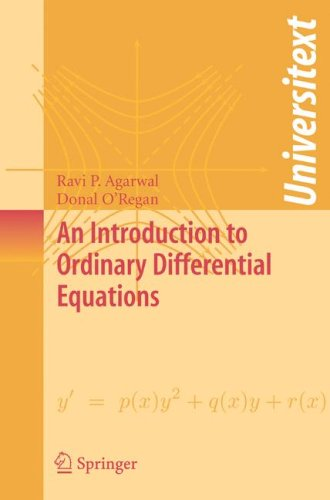 Introduction to Ordinary Differential Equations   2008 edition cover