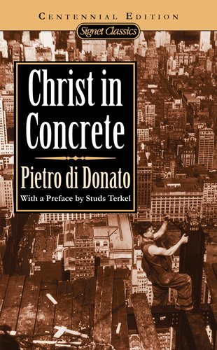 Christ in Concrete  N/A edition cover
