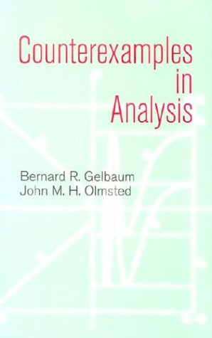 Counterexamples in Analysis   2003 edition cover