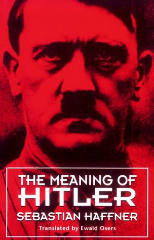 Meaning of Hitler   1979 edition cover