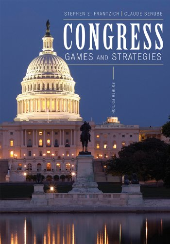 Congress Games and Strategies 4th 2009 edition cover
