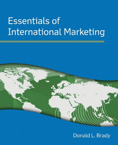 Essentials of International Marketing   2011 edition cover
