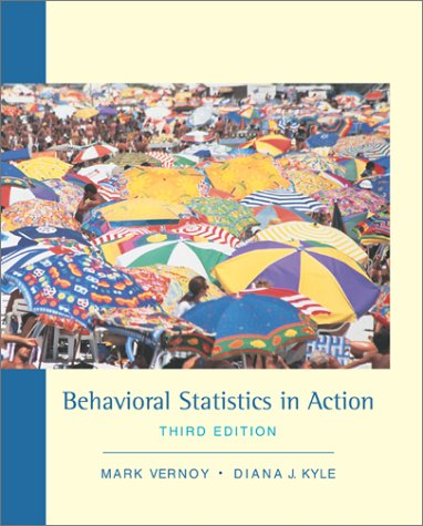 Behavioral Statistics in Action  3rd 2002 edition cover