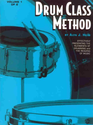 Drum Class Method, Vol 1   1985 edition cover