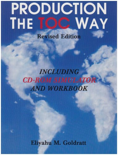Production the TOC Way with Simulator  2003 edition cover