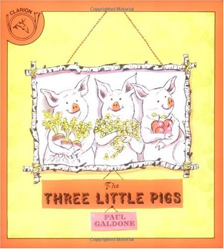 Three Little Pigs   1984 edition cover